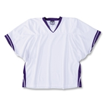 Warrior Youth Clutch Jersey (Wh/Pu)