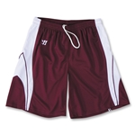 Warrior Youth Clutch Short (Maroon/Wht)