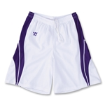 Warrior Youth Clutch Short (Wh/Pu)