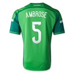 Nigeria 14/15 AMBROSE Home Soccer Jersey