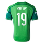 Nigeria 14/15 NWOFOR Home Soccer Jersey