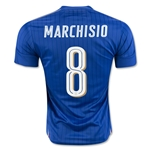 Italy 2016 MARCHISIO Home Soccer Jersey