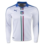 Italy 15/16 LS Away Soccer Jersey