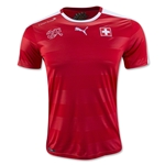 Switzerland 2016 Home Soccer Jersey