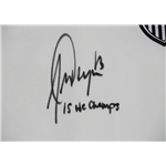 Alex Morgan Signed 2015 USA Jersey with 15 WC Champs