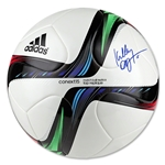 Kelley O'Hara Signed adidas Conext15 Competition Soccer Ball