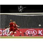 Kelley O'Hara Signed WWC USA Goal vs Germany 16x20 Photo