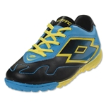 Lotto Zhero Gravity VI 700 TF Junior (black/fluo blue)
