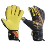 Supra Goalie Glove (Black/Yellow)