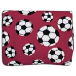 Soccer Pocket Throws (Maroon)