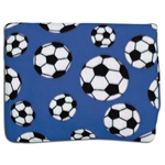 Soccer Pocket Throws (Royal)