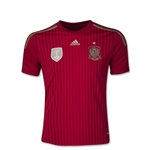 Spain 2014 Youth Home Soccer Jersey