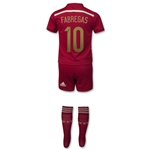 Spain 2014 FABREGAS Home Mini Kit