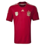 Espana 2014 Jersey de Futbol Local Autentico