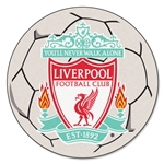 Liverpool Soccer Ball Rug
