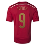 Spain 2014 TORRES Home Soccer Jersey