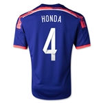 Japon 2014 HONDA Jersey de Futbol Local