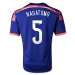 Japon 14/15 NAGATOMO Jersey de Futbol Local