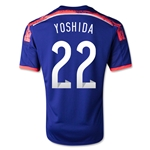 Japon 14/15 YOSHIDA Jersey de Futbol Local