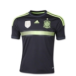 Spain 2014 Youth Away Soccer Jersey