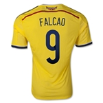 Colombia 2014 FALCAO Authentic Home Soccer Jersey