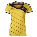 Colombia 2014 Women's Home Soccer Jersey