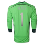 Germany 2014 NEUER Home LS Goalkeeper Jersey