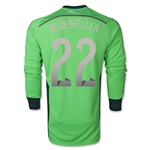 Germany 2014 WEIDENFELLER Home LS Goalkeeper Jersey