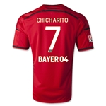 Bayer Leverkusen 15/16 CHICHARITO Away Soccer Jersey