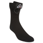 Glide SS Quarter Lacrosse Socks (Black)