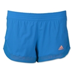 adidas TechFit 2-in-1 Woven Short (Roy/Orange)