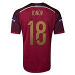 Russia 14/15 IONOV Home Soccer Jersey