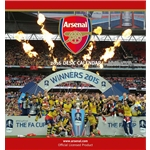 Arsenal 2016 Desk Calendar