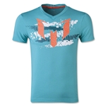 adidas Youth Messi Logo T-Shirt (Teal)