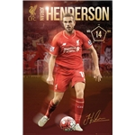 Liverpool Henderson Poster