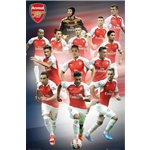Arsenal 15/16 Players Poster