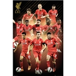 Liverpool 15/16 Players Poster