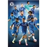 Chelsea 15/16 Players Poster