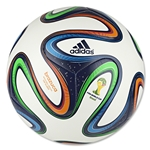 adidas 2014 Brazuca Top Glider Ball (White/Night Blue/Multicolor)