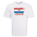 Croatia Soccer T-Shirt (white)