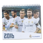Real Madrid 2016 Desk Calendar
