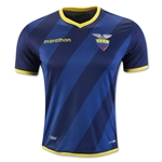 Ecuador 16/17 Authentic Away Soccer Jersey