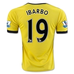 Watford 15/16 IBARBO Home Soccer Jersey
