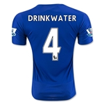 Leicester City 15/16 DRINKWATER Home Soccer Jersey