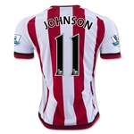 Sunderland 15/16 JOHNSON Home Soccer Jersey