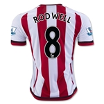Sunderland 15/16 RODWELL Home Soccer Jersey