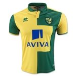 Norwich City 15/16 Home Soccer Jersey
