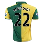 Norwich City 15/16 REDMOND Home Soccer Jersey