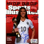 Carli Lloyd Signed 2015 World Cup Sports Illustrated Magazine