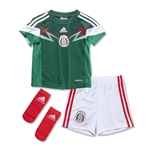 Mexico 2014 Uniforme de Futbol Local Infantil